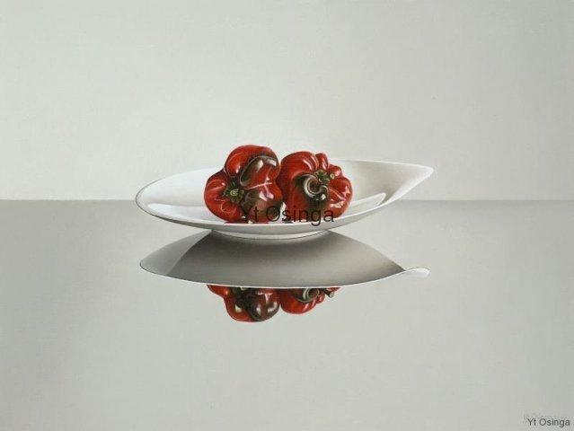 Paprika's op schaaltje