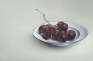 Bord met druiven
