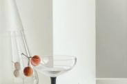 Glaswerk Copier met aardbeiboombesjes